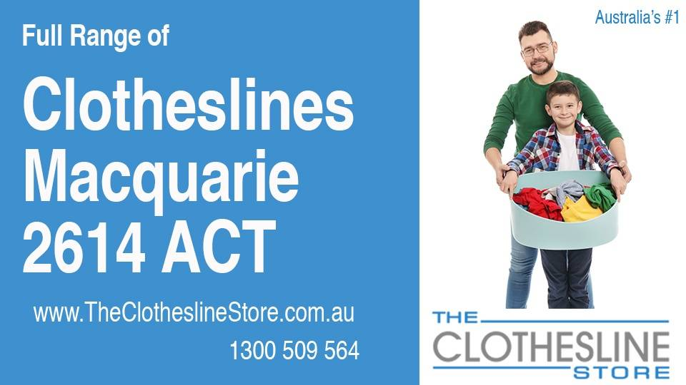 New Clotheslines in Macquarie ACT 2614