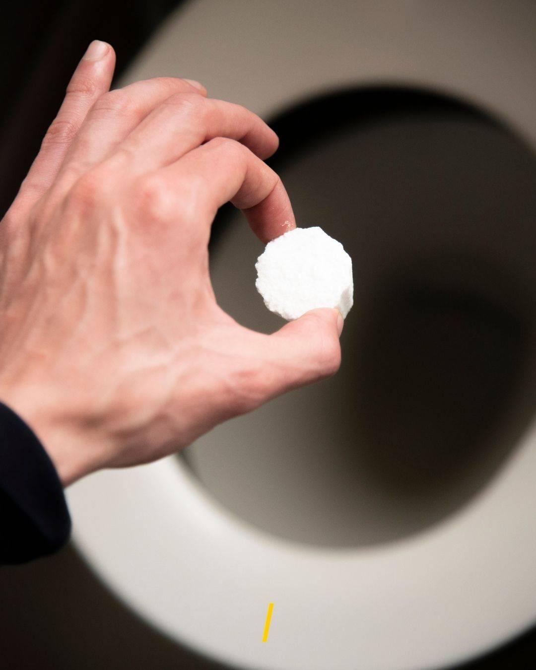 Tablettes WC zéro déchet