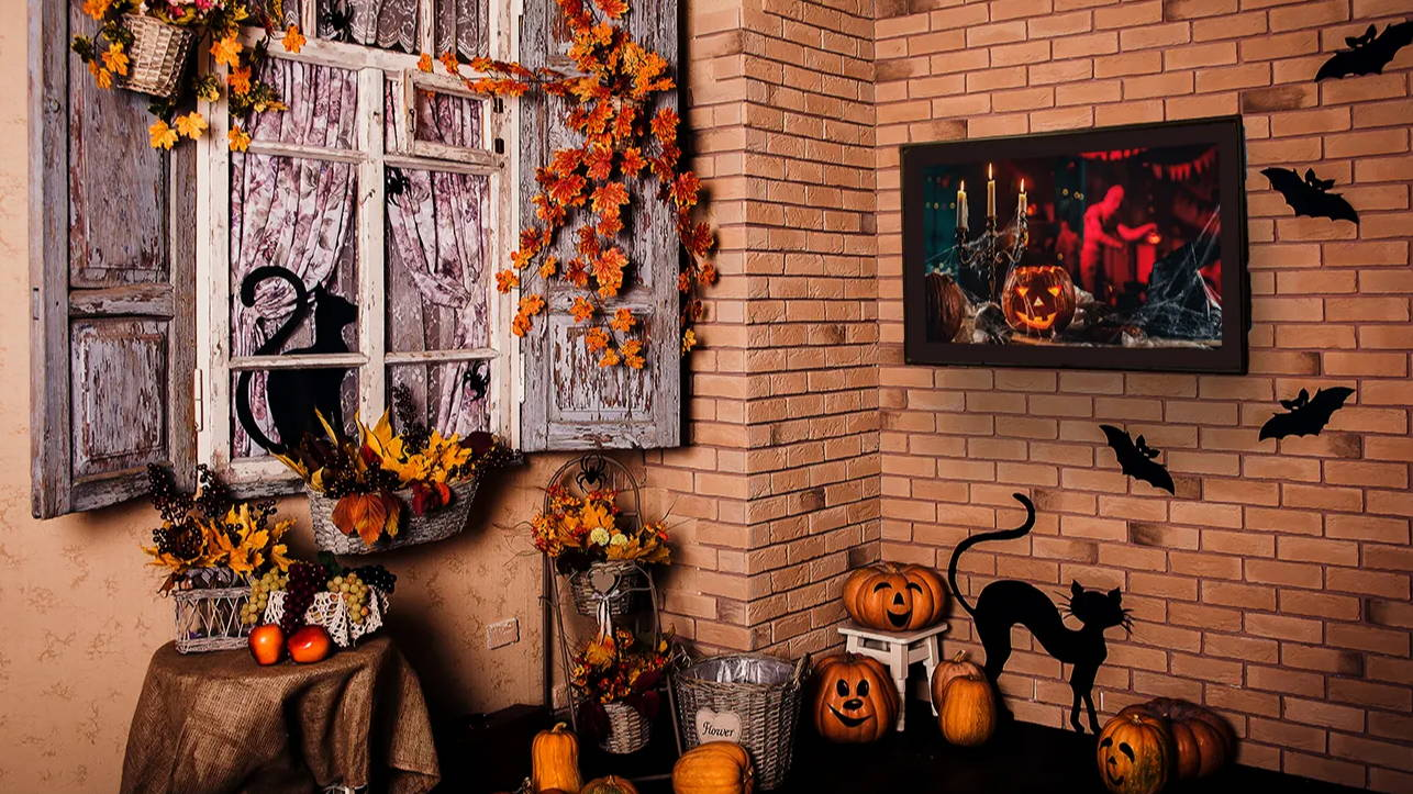 Outdoor TV Enclosure Unique Halloween Décor Ideas