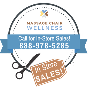 Massage Chair Wellness Call for In-Store Sales!