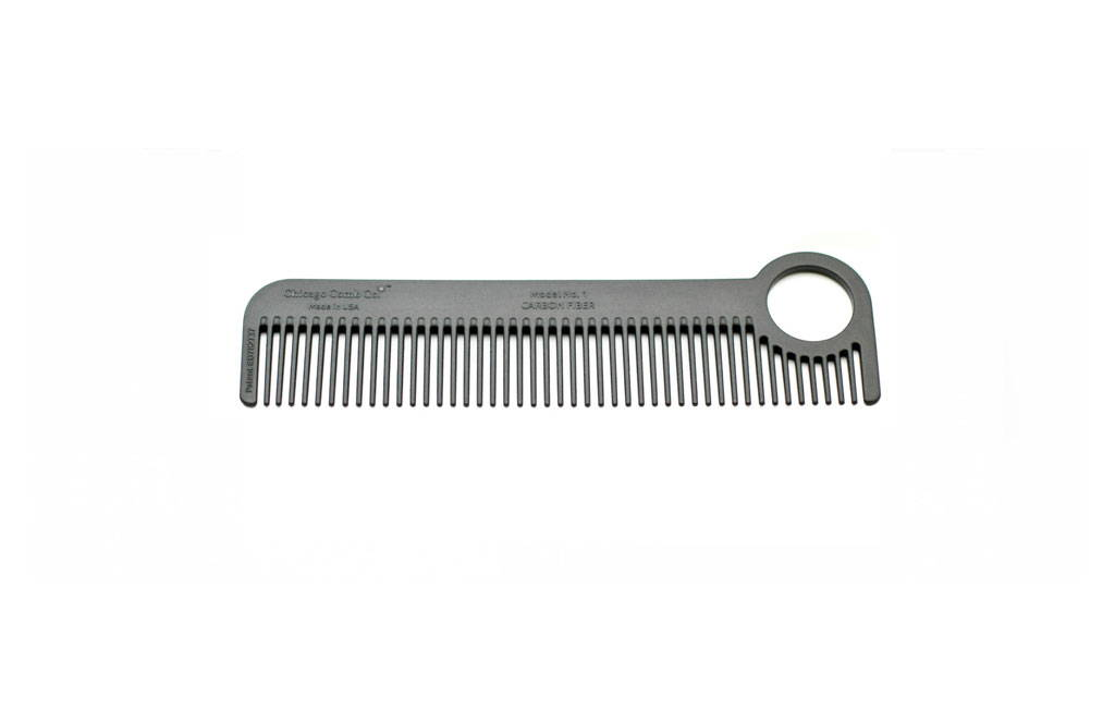 Chicago Comb Model No.1 Carbon Fiber