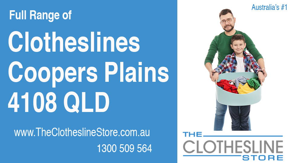 New Clotheslines in Coopers Plains Queensland 4108