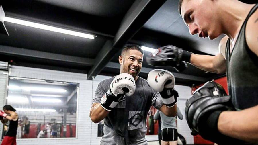 Boxing class MMA