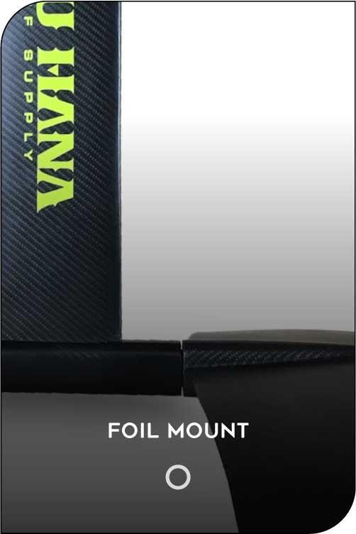 PAU HANA OAHU HYDROFOIL MOUNT FEATURE