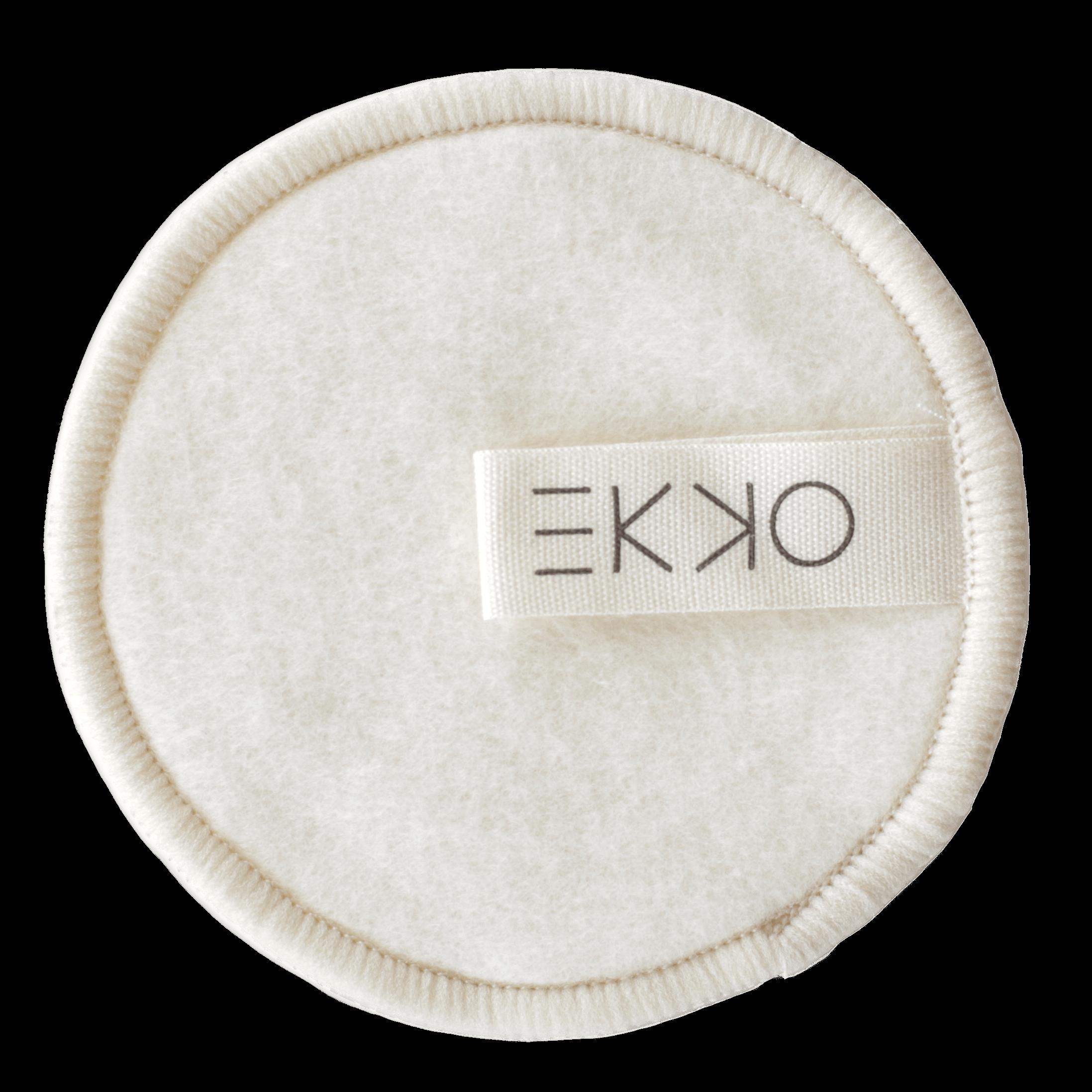 reusable hemp cotton make up pad