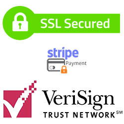 secured online transaction logos