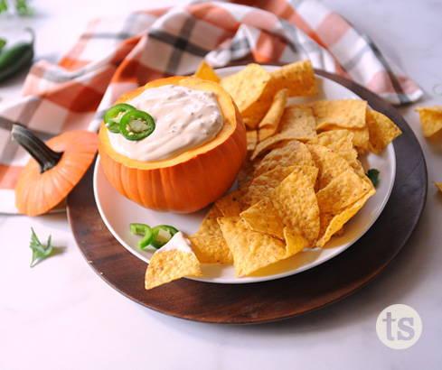 mini pumpkins for dips