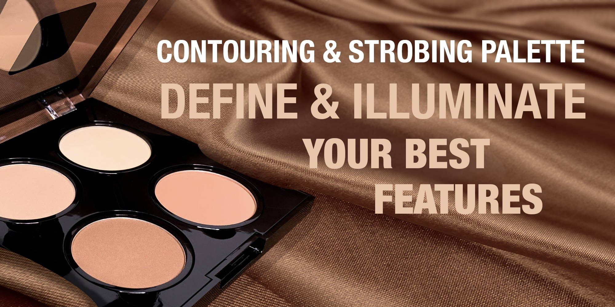 shop nanacoco professional contouring and strobing palette