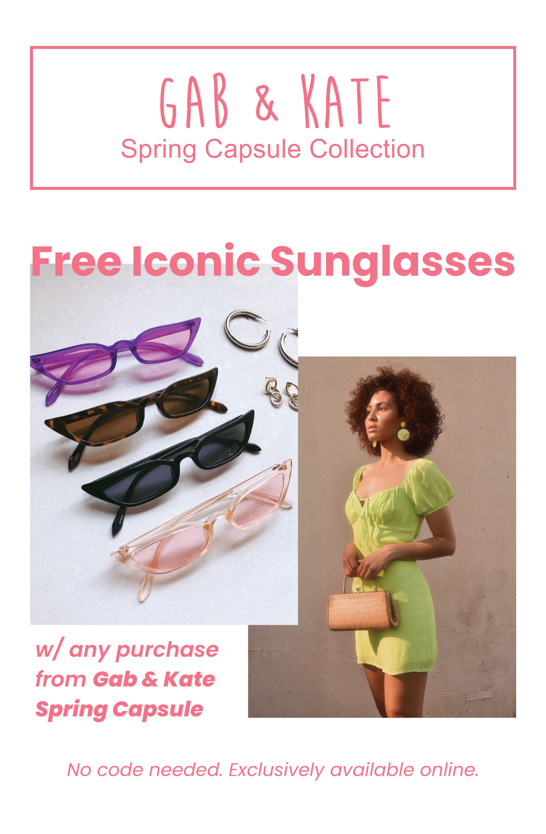 Free Iconic Sunnies with purchase