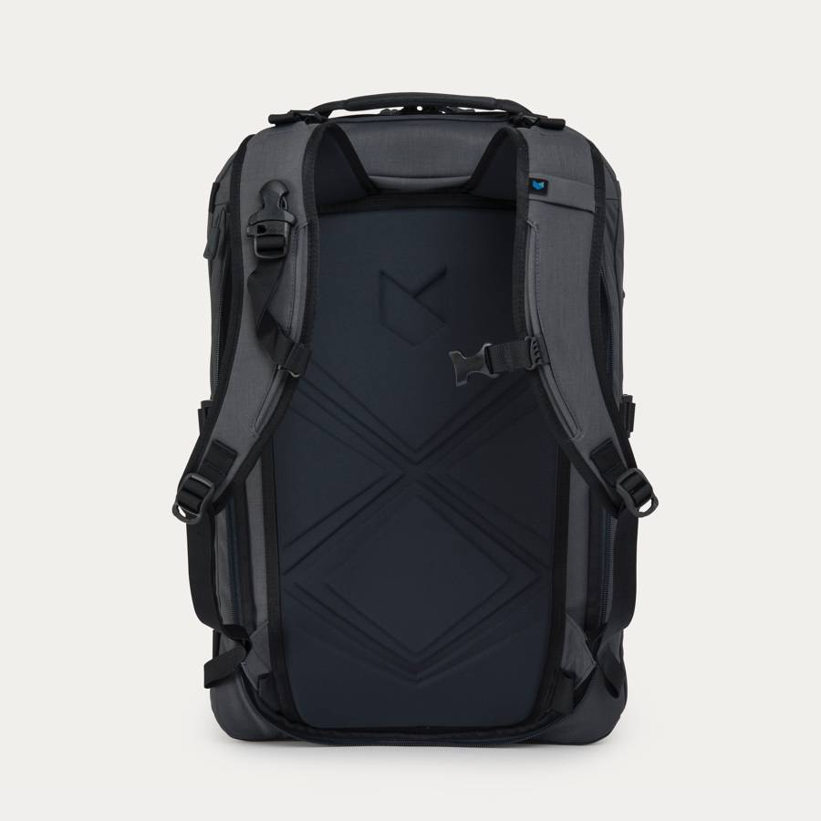 Minaal Carry-on 2.0 - Vancouver Grey, back panel