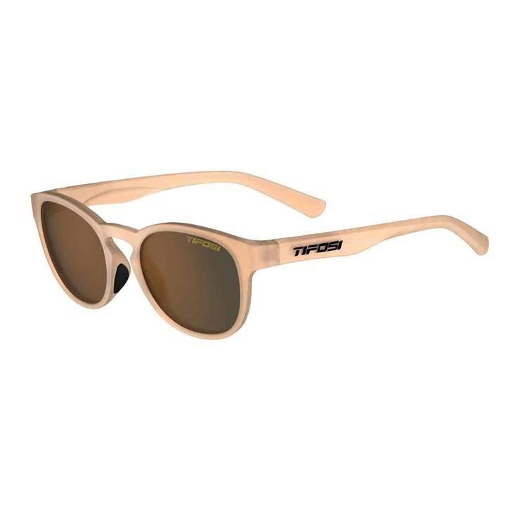Tifosi Svago Sunglasses Satin Crystal Brown