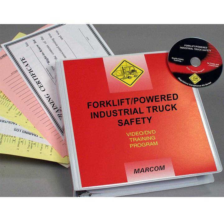 Marcom Powered Industrial Truck Forklift Training Video