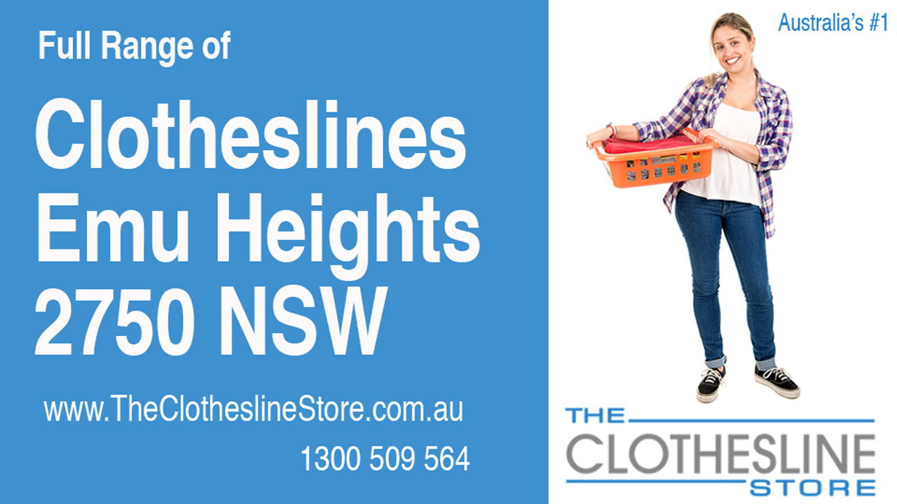 New Clotheslines in Emu Heights 2750 NSW