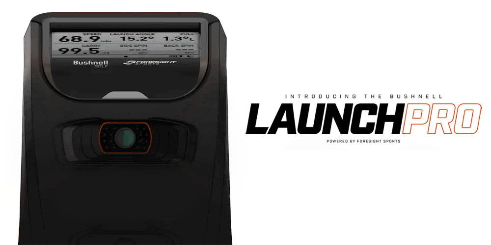 Introducing the Bushnell Launch Pro personal golf launch monitor powered by Foresight Sports