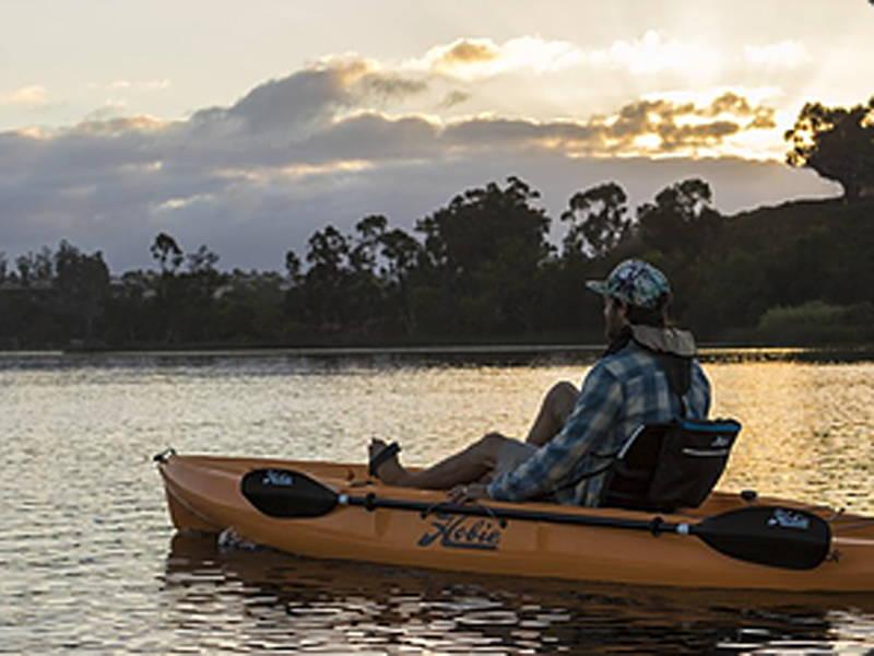 kayak rental at camp holiday