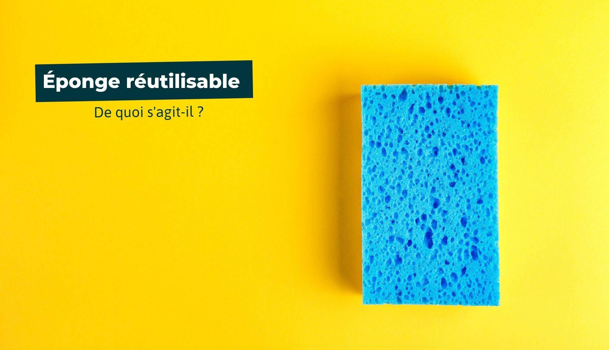 Qu'est-ce qu'une éponge réutilisable ?