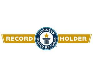 The Longhairs World Record Logo