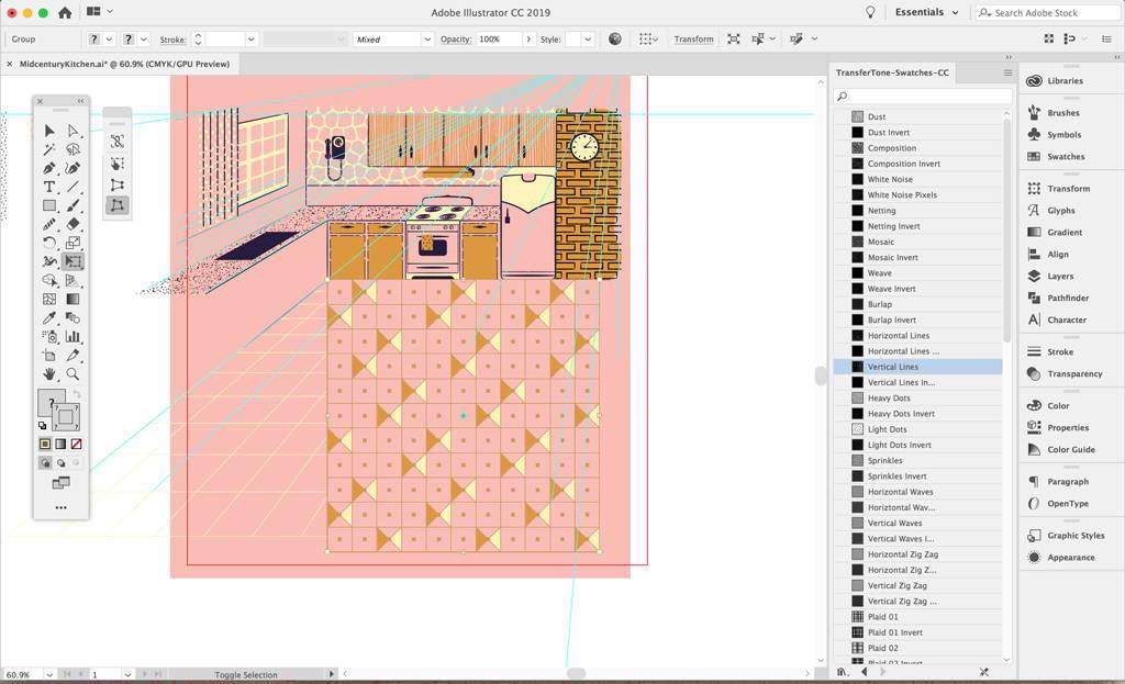 Rounding corners in Adobe Illustrator
