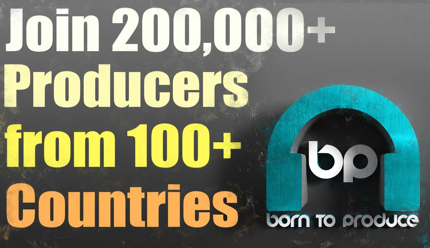 Join thousands others and become a better music producer