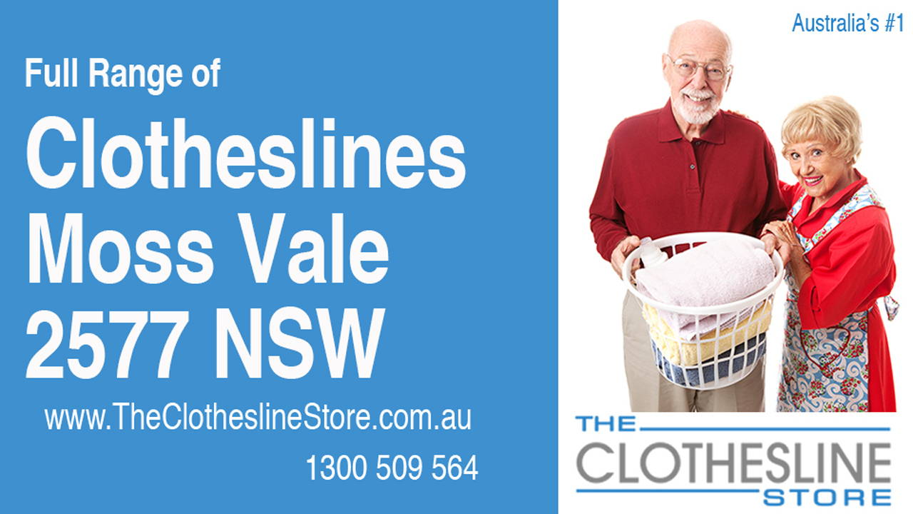 New Clotheslines in Moss Vale 2577 NSW