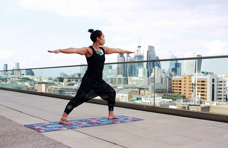 fundamentals of recover rem-fit. woman doing yoga