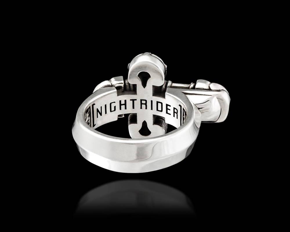 Ari Ring by NightRider Jewelry - Back