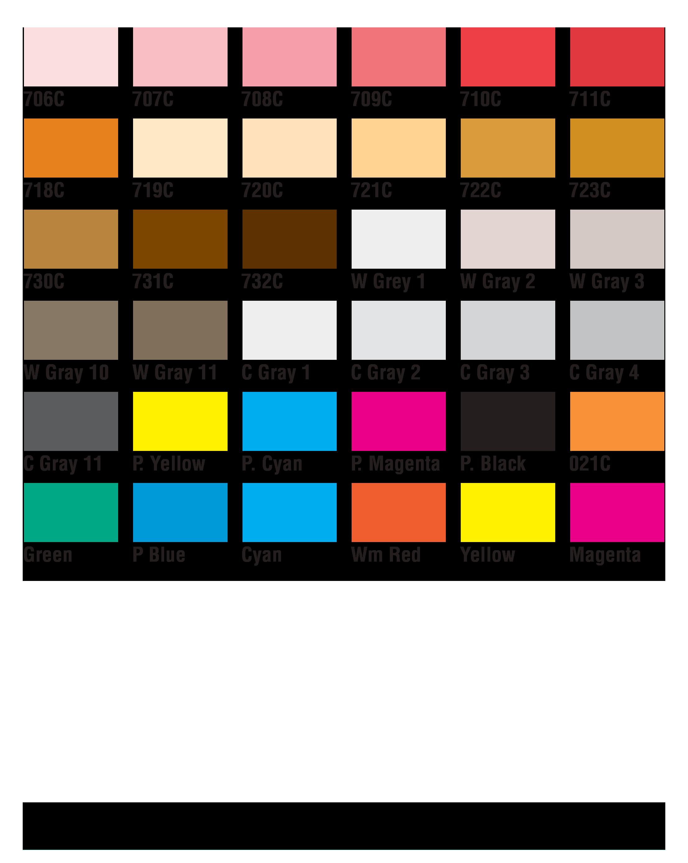 PMS Colors 18