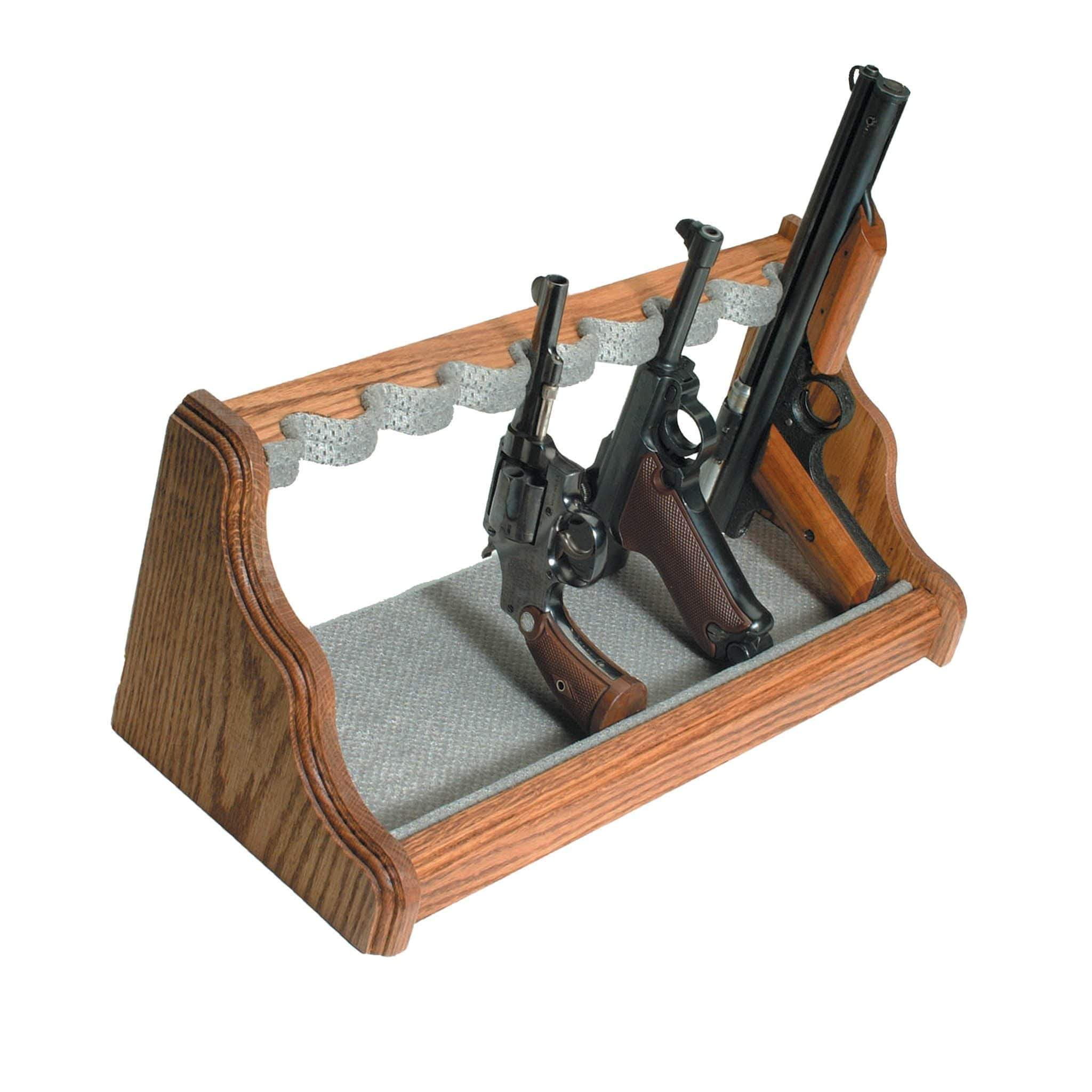 OAK PISTOL RACK