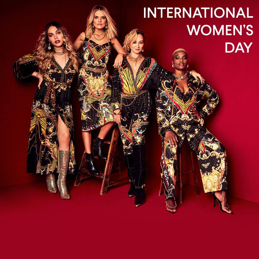 CAMILLA x Wonder Woman For International Women's Day