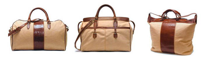 Canvas Leather Bag Collection
