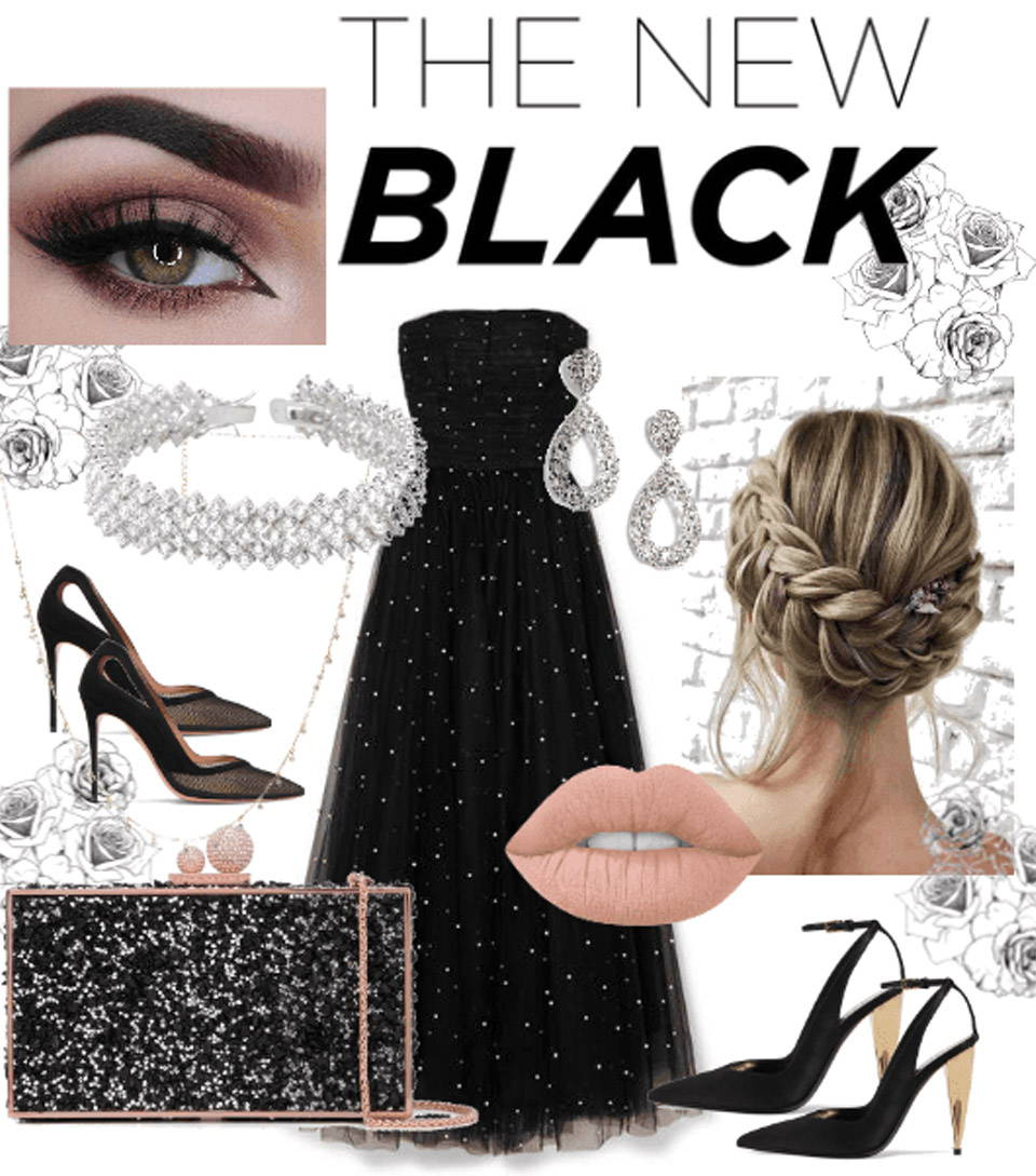 Pair your classic, black dress with the arresting charm of EyeCandy's Glossy Blink Sky Grey color contacts