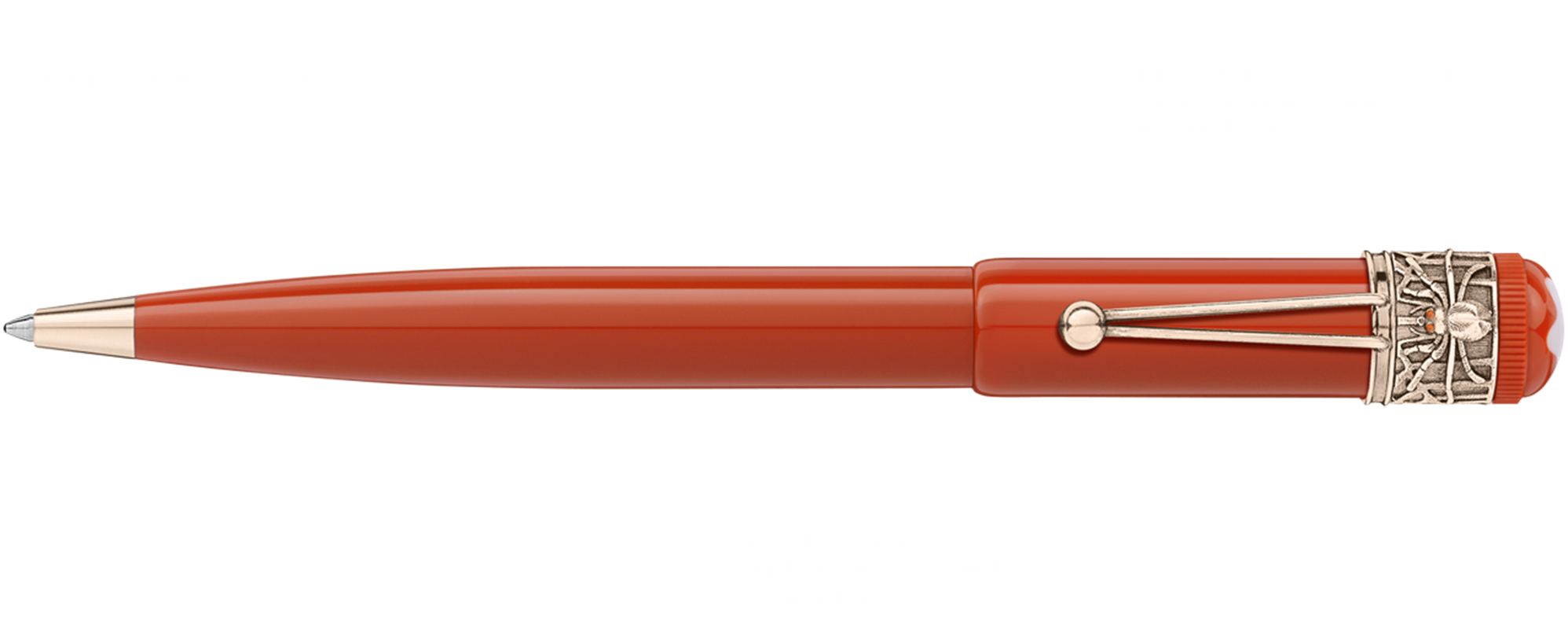 Montblanc Heritage Spider Coral Red