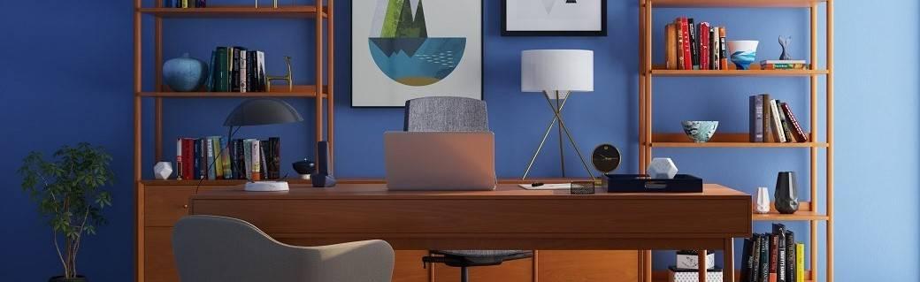 A modern home office
