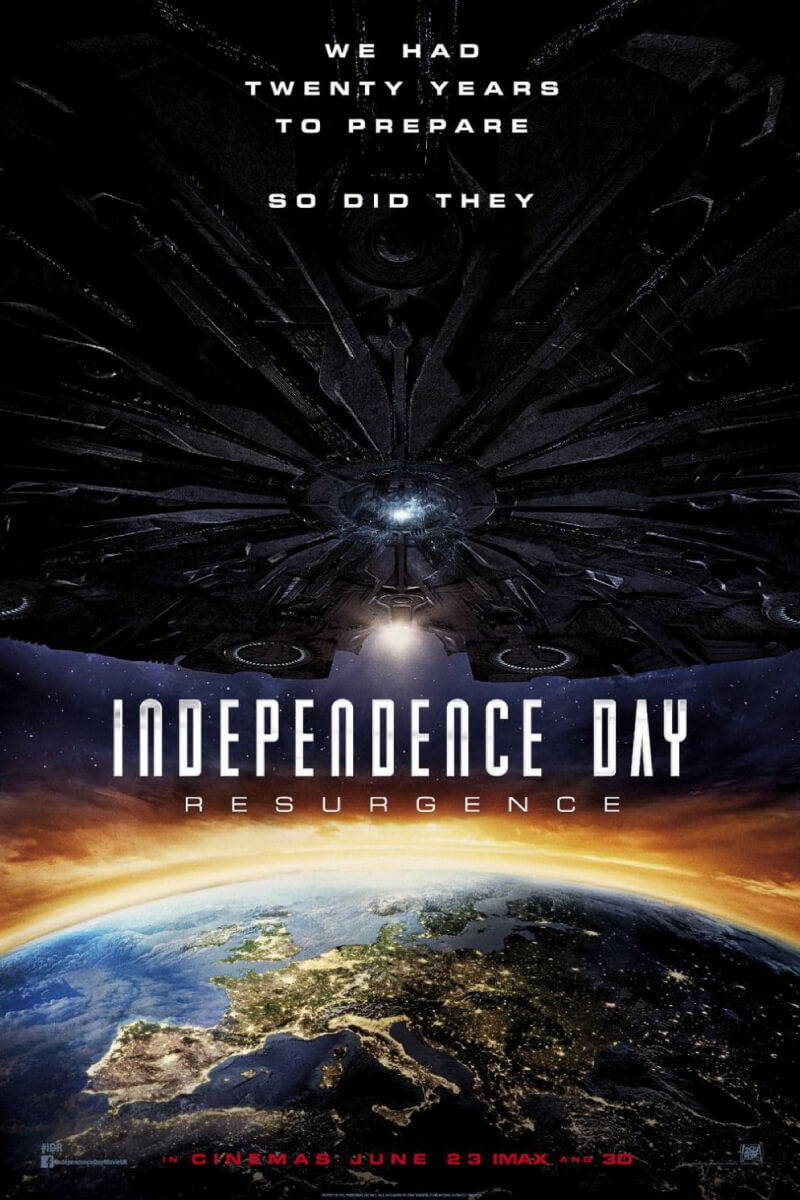 patriotic 4th of july movie Independece Day Resurgance