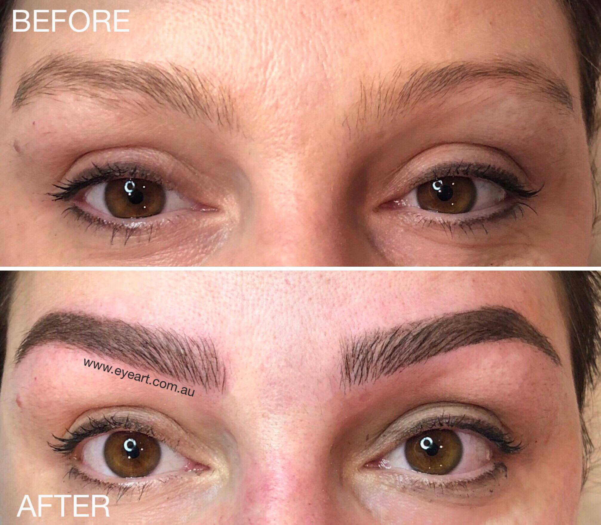 Eyebrow Feathering, Eyebrow Microblading Reviews, Photos, Prices Melbourne