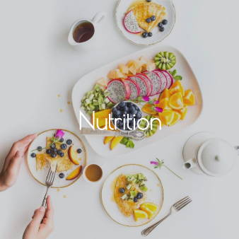 A link to my Nutrition Services page