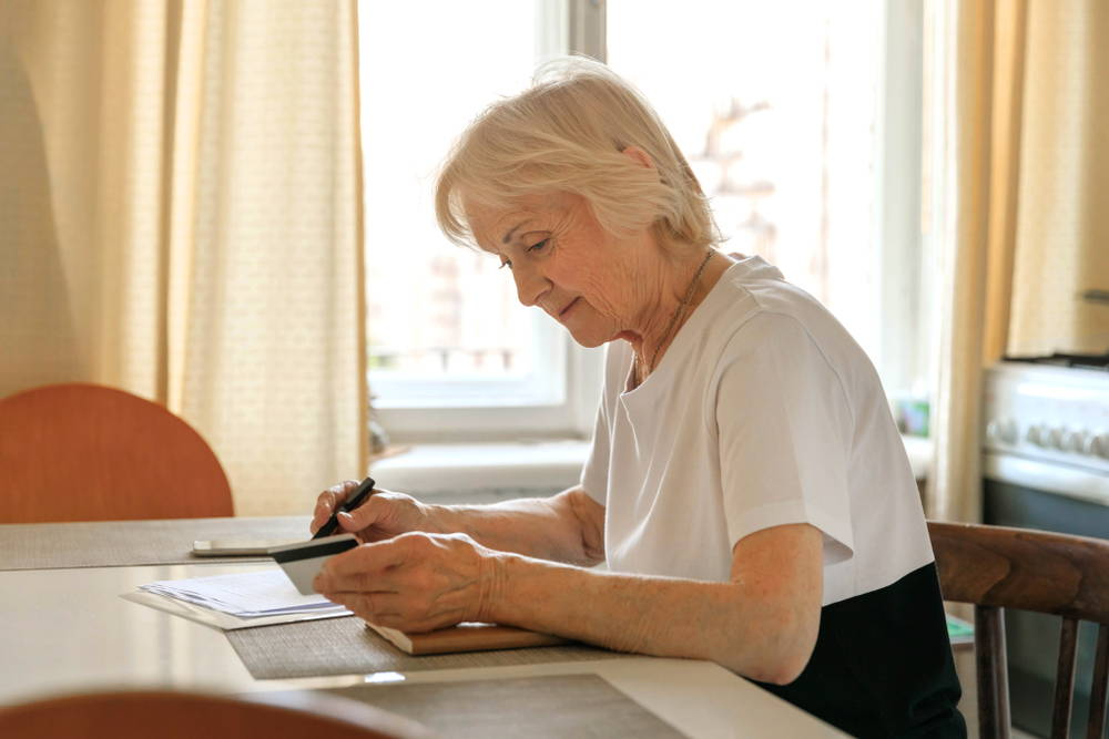 older-woman-writing