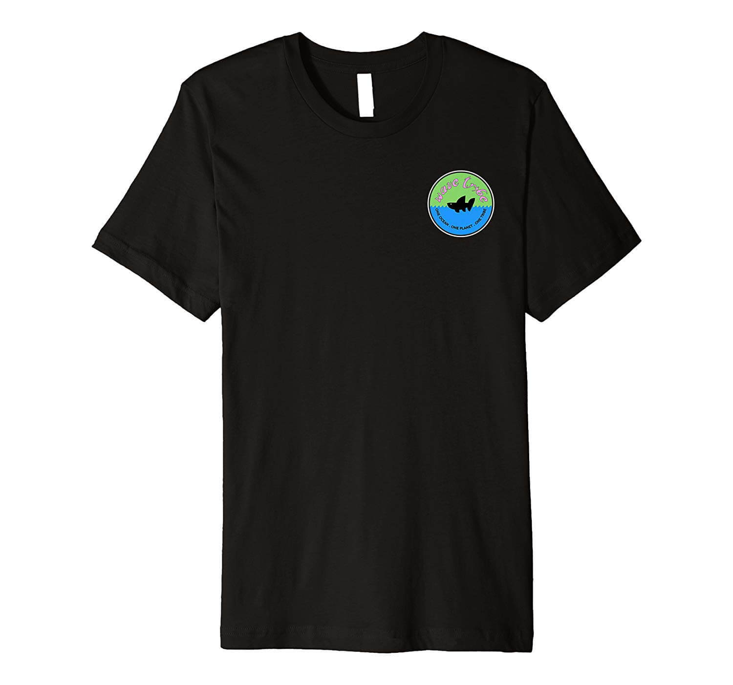 Vintage Whale Front Wave Tribe Shirt