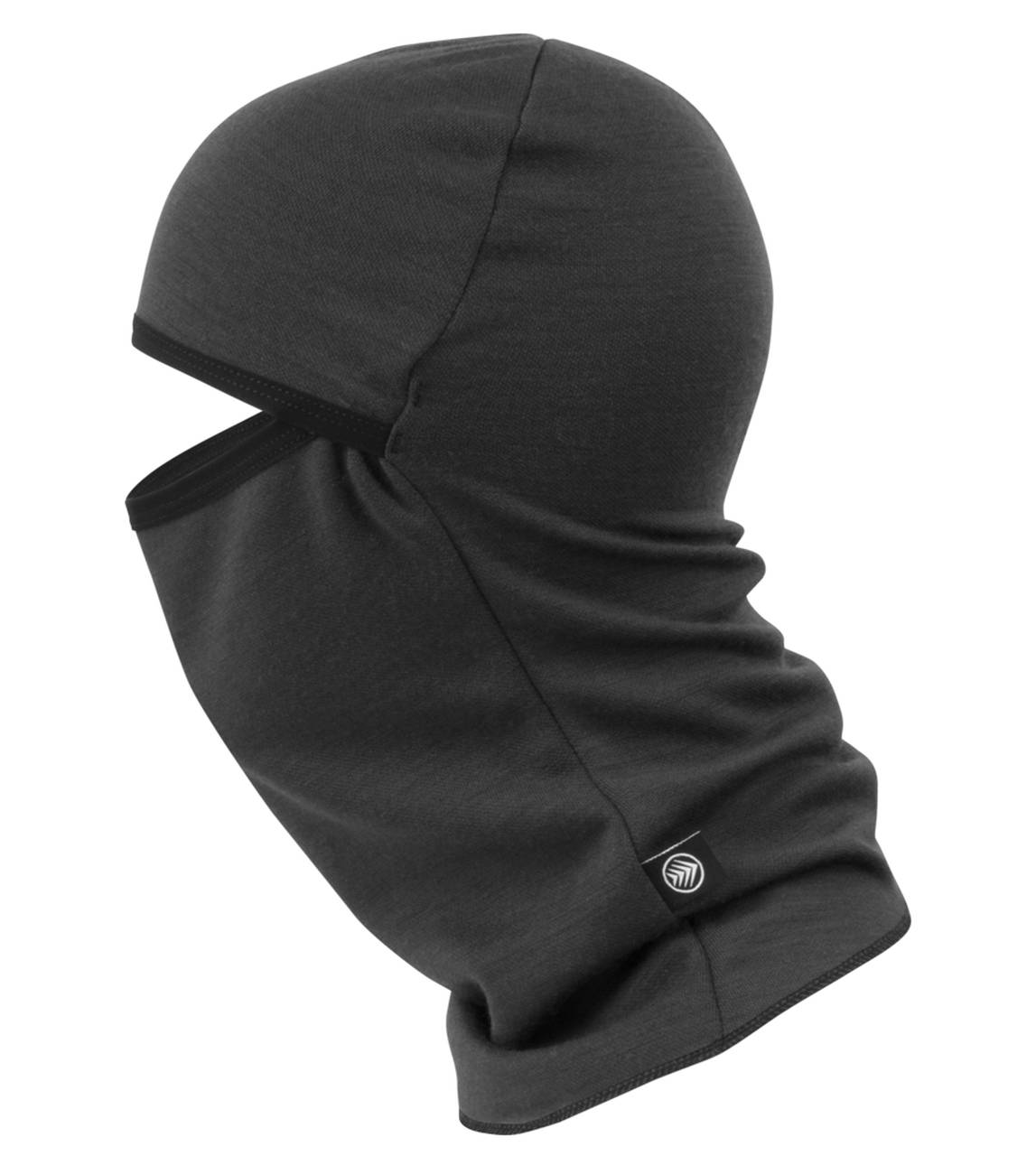 merino wool balaclava side view