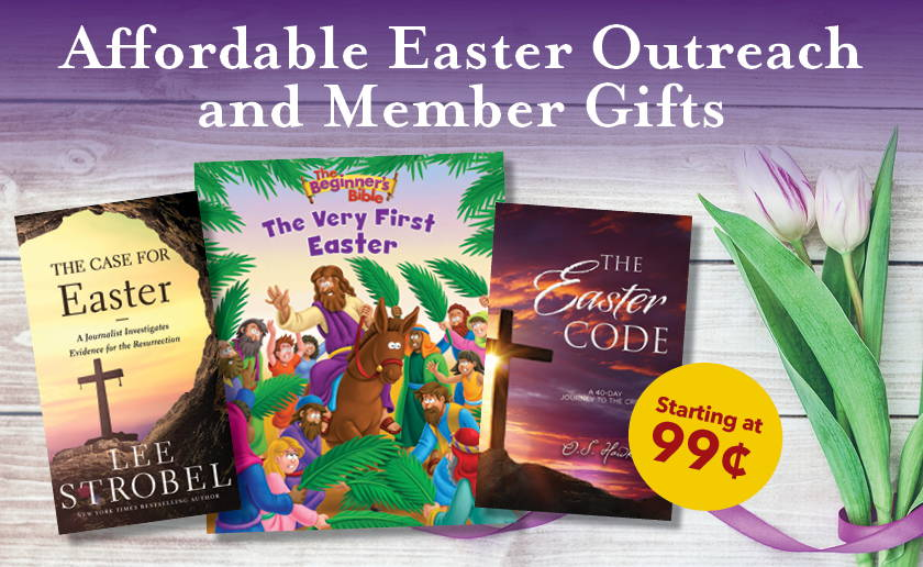 Affordable Easter Outreach and Member Gifts - Starting at 99 cents