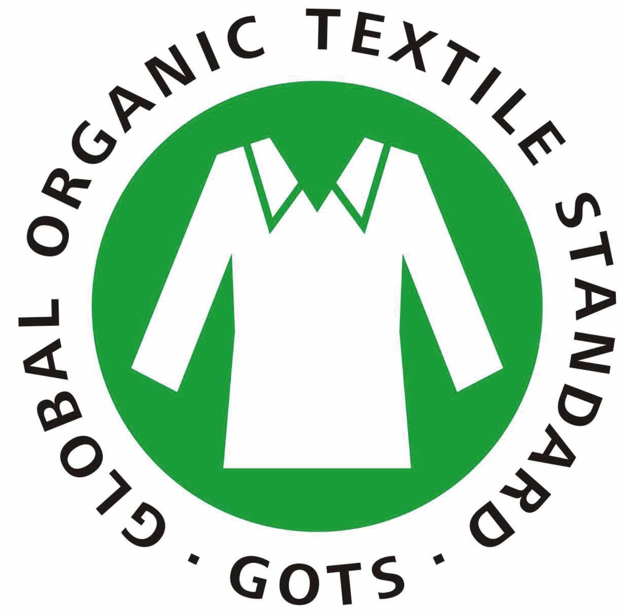 GOTS certification logo
