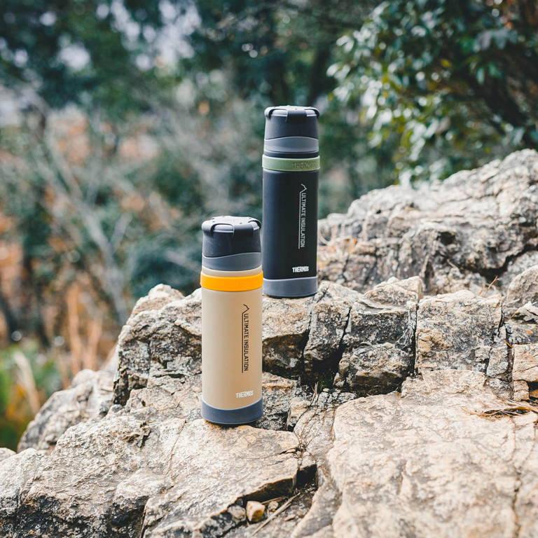 THERMOS(サーモス)/山専用ステンレスボトル/750ml/ブラック