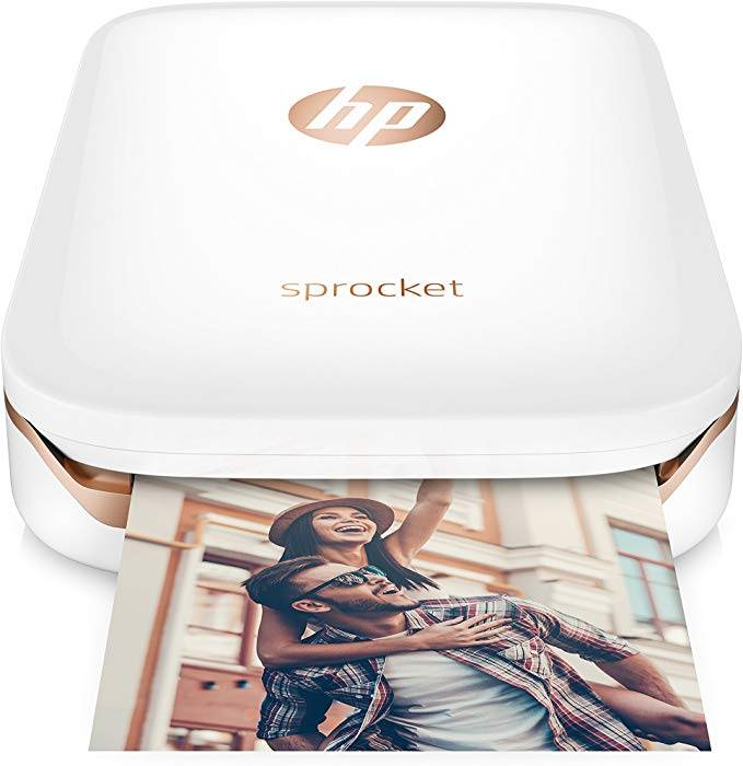 Review of the HP Sprocket photo printer for the bobo design studio Wanderlust Passport Travel Journal