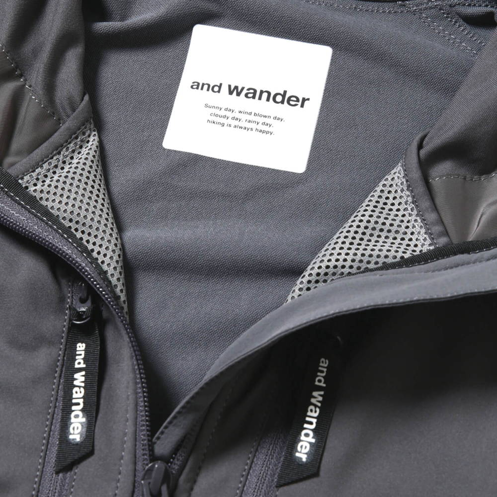 andwander(アンドワンダー)/トレックジャケット 2/ネイビー/UNISEX