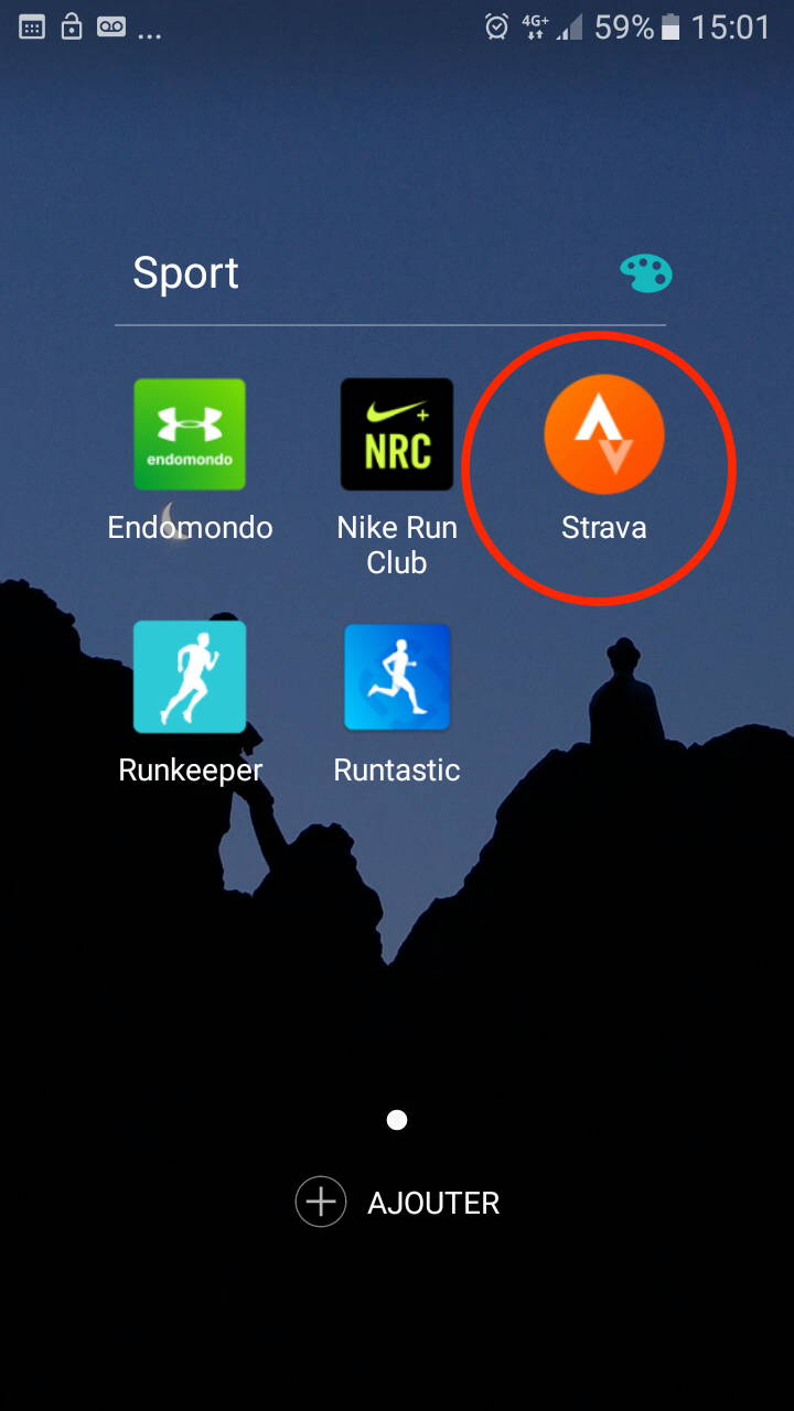 Bluetooth pairing a heart sensor with Strava (Android