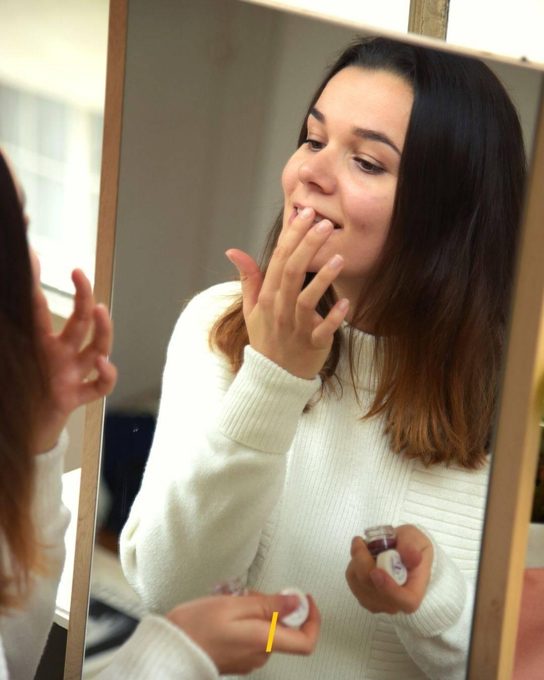 Baume à lèvres teinté