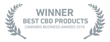Best CBD Product 2018 award