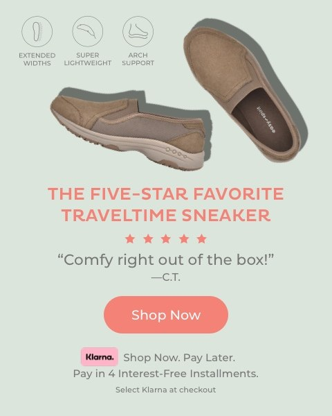 Five-Star Favorite Traveltime Sneaker