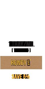 Save 5% on Rowdy Bars