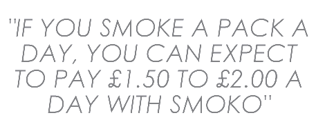 SMOKO can save you thousands of pounds a year